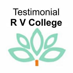 Testimonials – R V College